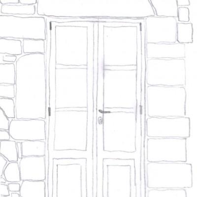 studio particolari - infisso a vetrina